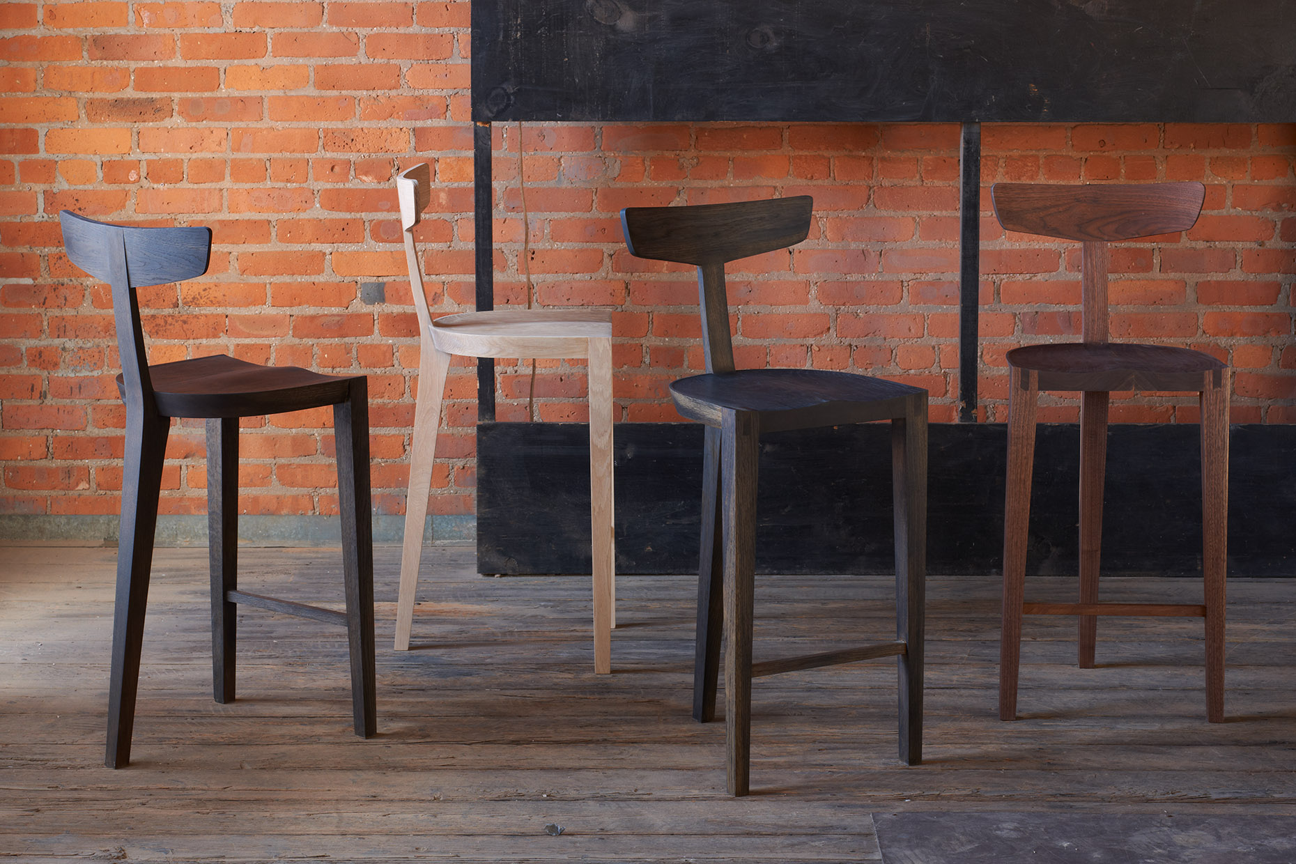 Saddleback Stools
